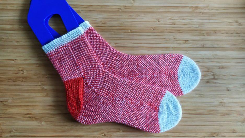Pixel Stitch Socks